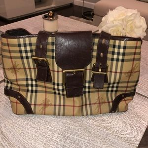 Original Burberry Leather Bag